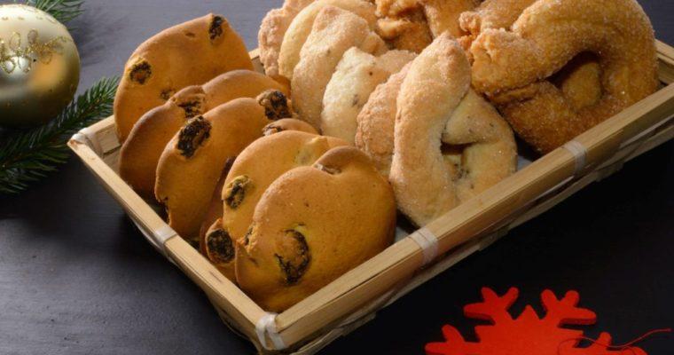 Biscotti secchi a Natale